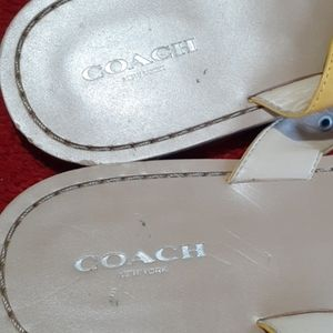 Coach Shoes - Coach sandals .